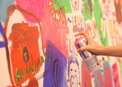Grote Live Paint verhuizing